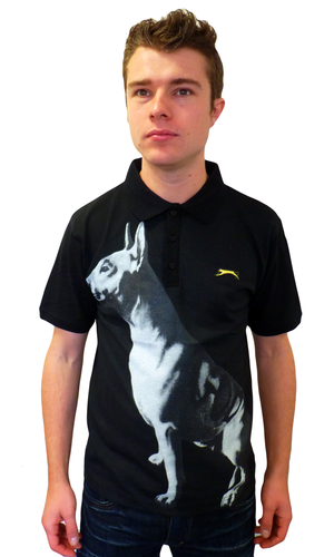 Derrick SLAZENGER HERITAGE God Dog Retro Polo (B)