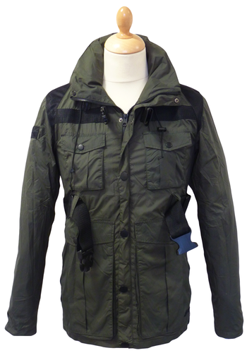 Ruck SLAZENGER HERITAGE Military Travel Jacket