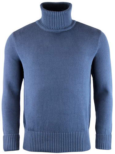 Deuters TUKTUK Retro Mod Roll Neck Knitted Jumper