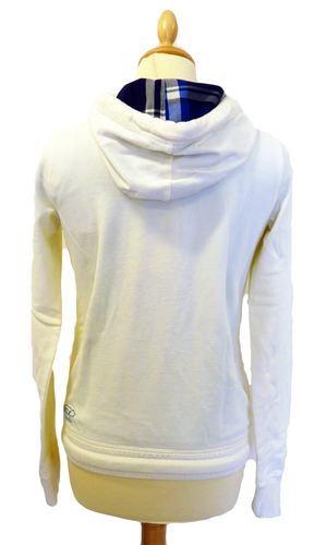 'Fowler' - Womens Retro 70s Hooded Top by UCLA
