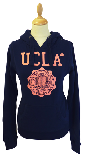 'Carlson' - Womens Retro Hooded Top by UCLA (N)