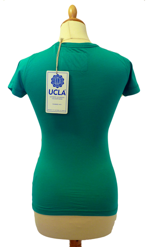 'May' - Womens Retro 50s T-Shirt by UCLA (P)