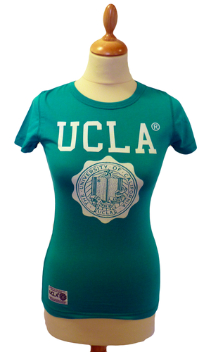'May' - Womens Retro 50s T-Shirt by UCLA (P)