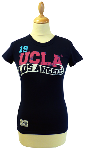 'Herrere' - Womens Retro 50s T-Shirt by UCLA (N)