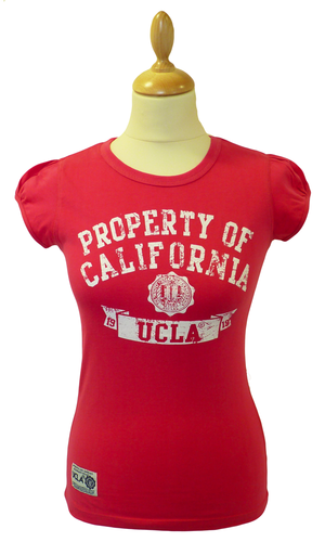 'Wade' - Womens Retro 50s T-Shirt by UCLA