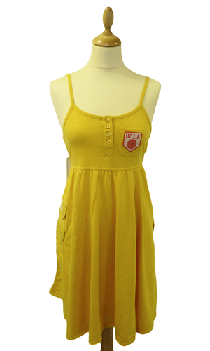 'Frazier' - Retro Indie Jersey Dress by UCLA