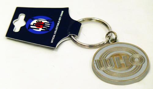 The Who Retro Sixties Mod Circles Logo Keyring