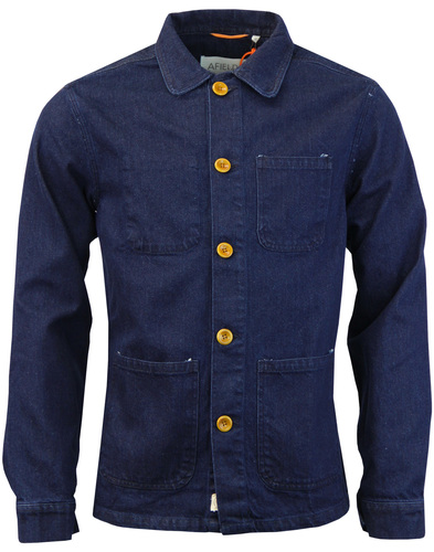 AFIELD Retro Sixties Retro Denim Station Jacket