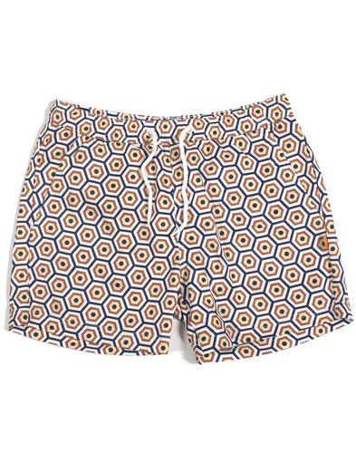 AFIELD Men's Retro 70s Sunbrella Swim Shorts