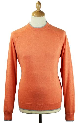 Thornhill ALAN PAINE Luxury Cotton Tipped Jumper S