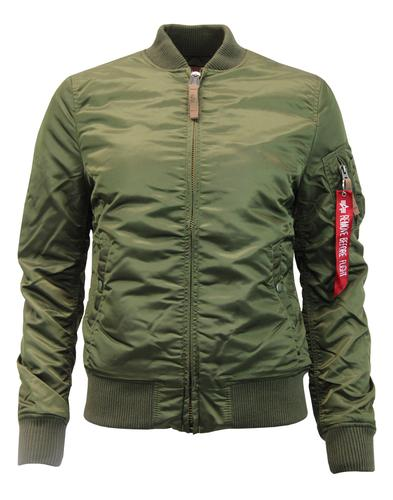 MA-1 VF Wmn ALPHA INDUSTRIES Retro Bomber Jacket