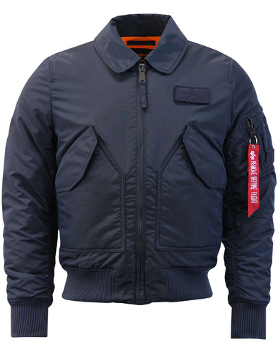 Maverick ALPHA INDUSTRIES CWU VF TT Pilot Jacket
