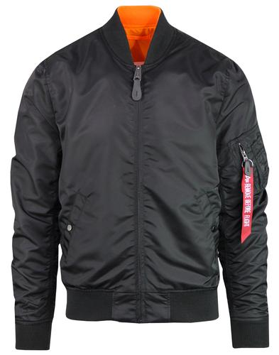 ALPHA INDUSTRIES MA1 USAF Blood Chit Bomber Jacket
