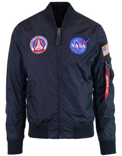 ALPHA INDUSTRIES MA-1 TT NASA 2-in-1 Bomber Jacket