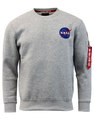 NASA Space Shuttle ALPHA INDUSTRIES 70s Sweatshirt