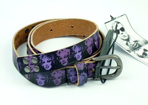 Sammy ANDY WARHOL Retro Marilyn Monroe Belt