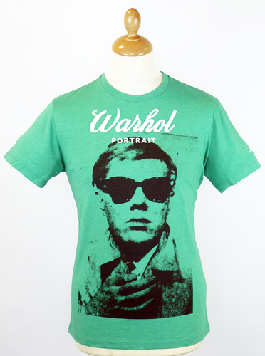Portrait Andy Warhol by PEPE JEANS Retro 60s Tee