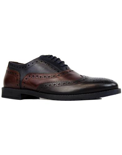 Scottie PAOLO VANDINI Retro Mod Tri-Colour Brogues