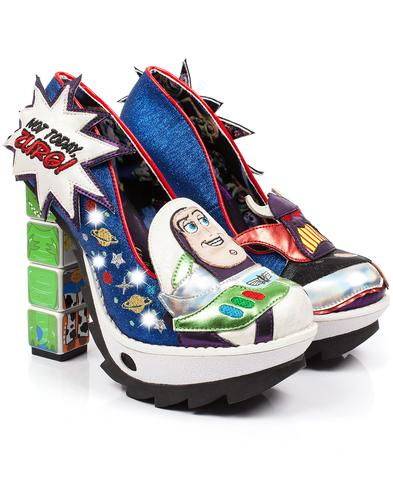 Arch Enemies IRREGULAR CHOICE Toy Story Heels