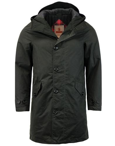 Crags BARACUTA Men's Mod Waxed Cotton Long Parka