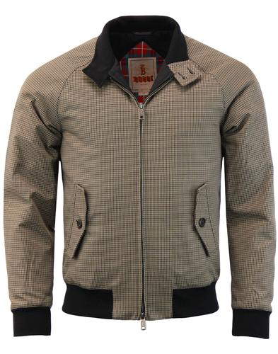 BARACUTA G9 Winter 60s Mod Houndstooth Harrington
