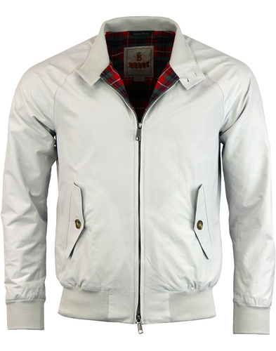 BARACUTA G9 Mod 60s Harrington Jacket - Mist