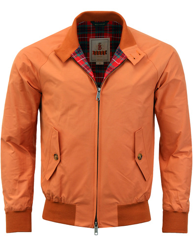 BARACUTA G9 Mod 60s Harrington Jacket - Squash