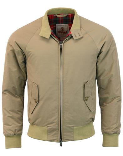 BARACUTA G9 Thermal Padded 60s Mod Harrington TAN