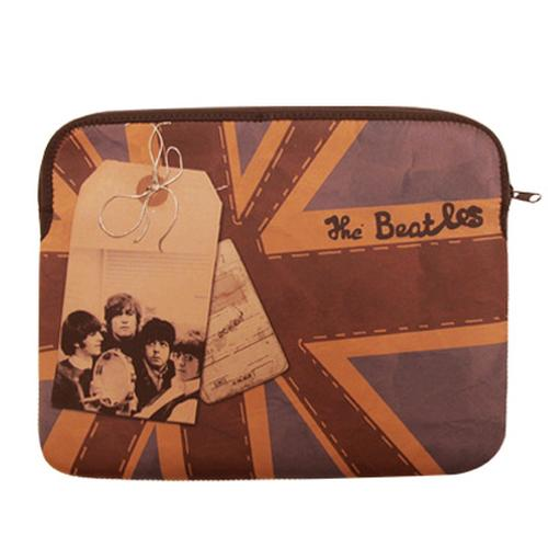BEATLES Retro 60s Union Jack 13 inch Laptop Sleeve