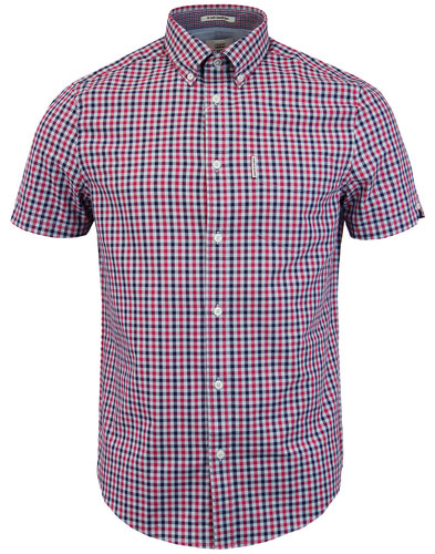 House Gingham BEN SHERMAN Classic Men's Mod Shirt