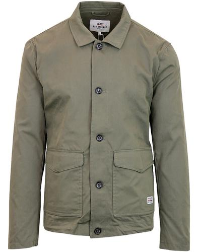 BEN SHERMAN Indie 60's Military Light Shell Jacket