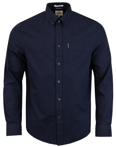 BEN SHERMAN Men's Mod Button Down Oxford Shirt (N)