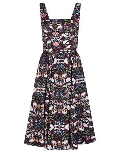 Bright and Beautiful Retro 60s Eden Woodland Dress