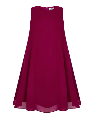 Tessa BRIGHT & BEAUTIFUL Baby Doll Dress Fuchsia
