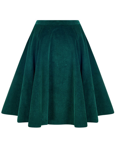 Tia BRIGHT & BEAUTIFUL Retro 60s Cord Middy Skirt