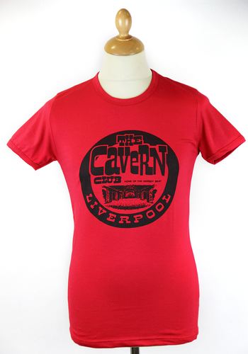 CAVERN CLUB Retro McCartney Vintage Logo T-shirt