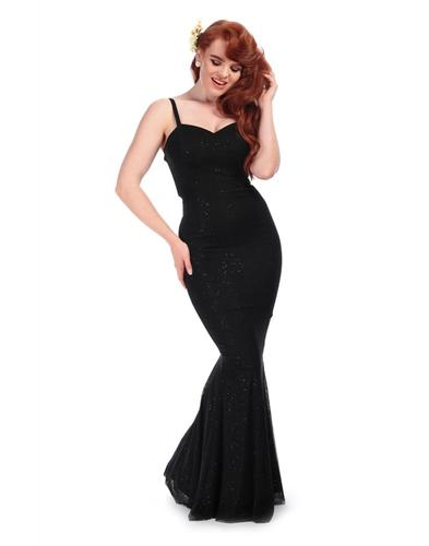 Collectif Delia Retro Vintage 40s 50s Evening Gown