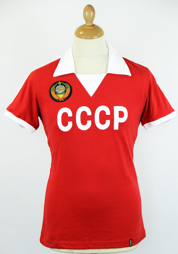 CCCP COPA Retro 1970s USSR Football Shirt (R/W)