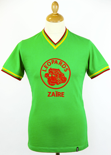 Zaire COPA Retro 70s Indie Vintage Football Shirt