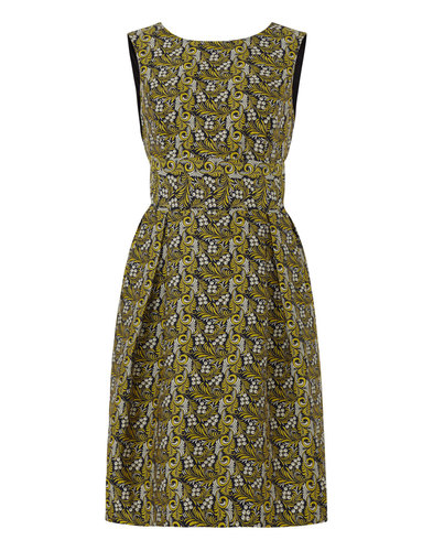 Aggie DARLING Retro 60s Embroidered Floral Dress