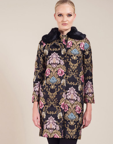Hepburn DARLING Retro Vintage Embroidered Coat