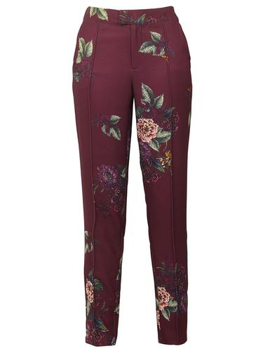 Camille DARLING Retro Vintage Print Trouser (P)
