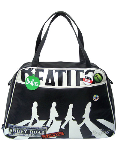 Beatles Abbey Road DISASTER DESIGNS Holdall Bag