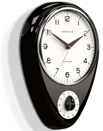 Discovery NEWGATE Retro Kitchen Timer Wall Clock