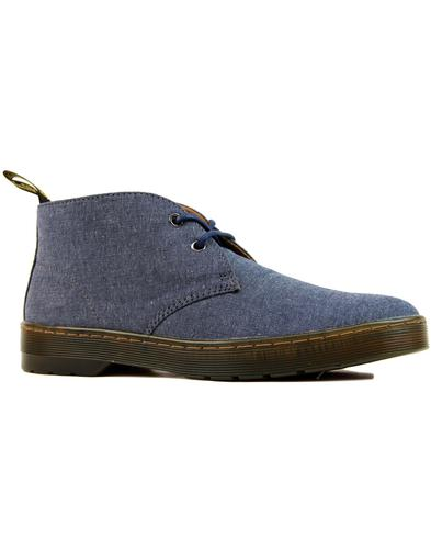 Mayport Chambray Twill DR MARTENS Desert Boots (N)