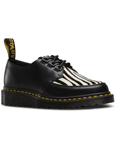 Ramsey DR MARTENS Women's 50s Zebra Hair Creepers