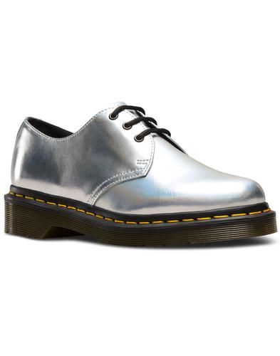 1461 DR MARTENS Retro Iced Metallic Shoes SILVER