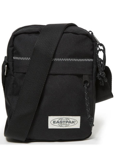 The One EASTPAK Retro Black Stitched Zip Mini Bag