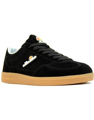 Calcio ELLESSE Men's Retro 1980s Suede Trainers