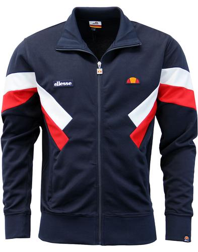 Chierroni ELLESSE Retro 80s Chevron Track Top (BL)